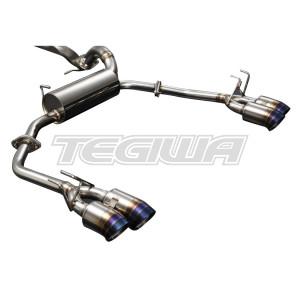 J's Racing C304 SUS Exhaust System - Honda