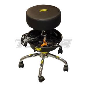 OMP PR921  RACING MECHANIC RACE TEAM PIT STOOL for GARAGE / PITS / MOTORHOME