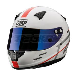 OMP SC790E  KJ-8 KJ8 Kart Helmet Karting CMR Full Face inc 2 Visors Sizes 52-59cm