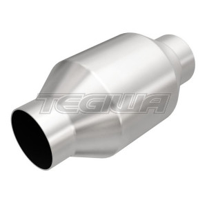 MAGNAFLOW 59956 200 CELL CPSI UNIVERSAL METALLIC HIGH FLOW SPORTS CAT 2.5 INCH 63MM