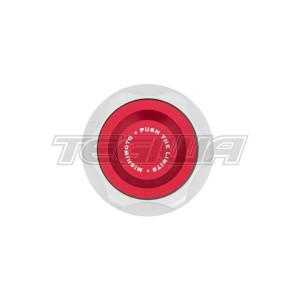 MISHIMOTO ACC OIL FILLER CAPS MAZDA OIL FILLER CAP RED