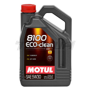MOTUL 8100 ECO-CLEAN 5W30 SYNTHETIC ENGINE OIL