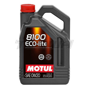 MOTUL 8100 ECO-LITE 0W20 SYNTHETIC ENGINE OIL