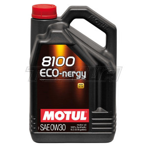 MOTUL 8100 ECO-NERGY 0W30 SYNTHETIC ENGINE OIL