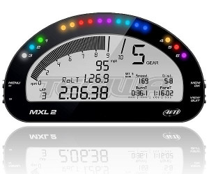 AIM MXL2 CAR RACING DASH LOGGER