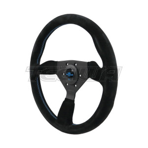 PERSONAL GRINTA SUEDE LEATHER STEERING WHEEL 330MM