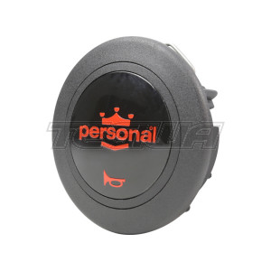 PERSONAL STEERING WHEEL SINGLE CONTACT HORN BUTTON - RED