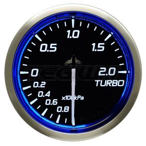 DEFI 52MM RACER GAUGES N2 BLUE