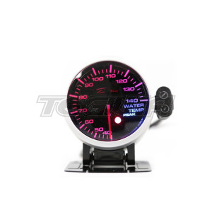 DEPO RACING WATER TEMPERATURE STEPPER MOTOR GAUGE PEAK 60MM