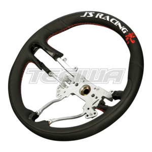 J's Racing Sports Steering Wheel Waza Leather