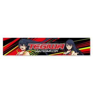 Tegiwa Tsuki Honda NSX Windscreen Banner Sun Strip