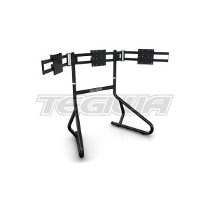 Trak Racer Triple 3 Monitor Floor Mounting Stand – Holds 22-34″