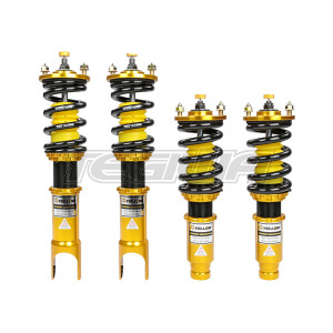 YELLOW SPEED RACING YSR PREMIUM COMPETITION COILOVERS HONDA CIVIC CRX 92-95FORK TYPE