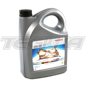 GENUINE HONDA ENGINE OIL 4 LITRES FULLY SYNTHETIC 0W20 CIVIC TYPE R FK2 FK8 15+