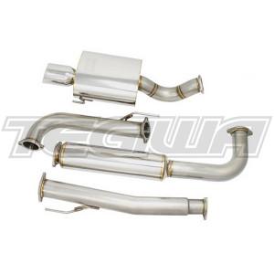 "Greddy 3"" Catback Exhaust System SS Supreme SP Honda Civic EK 3dr 96-00"