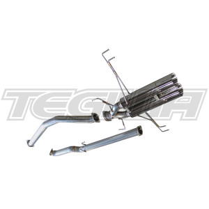 GReddy DD-R Non-Resonated Exhaust Honda Civic Sport/FK8 Type-R 17+