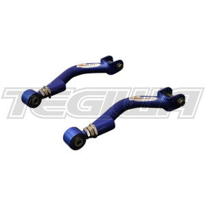 HARDRACE ADJUSTABLE REAR UPPER CAMBER KIT WITH HARDENED RUBBER BUSHES 2PC SET NISSAN 200SX S14 SILVIA S15 SKYLINE R33 R34