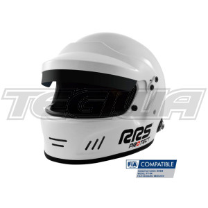 RRS Protect Full Face Rally Helmet Fia 8859-2015