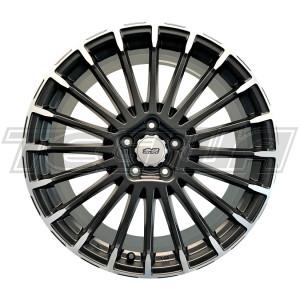 "Mugen MDCF 20"" Black Alloy Wheel Honda Civic Type R FK8"