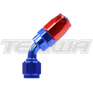 AN 6 8 10 12 45 DEGREE HOSE END FITTING