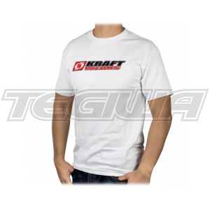KRAFTWERKS STACKED T-SHIRT WHITE XXL