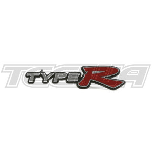 GENUINE HONDA FRONT GRILL TYPE R BADGE CIVIC TYPE R EP3 01-03