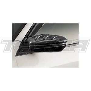 MUGEN CARBON DOOR MIRROR COVER HONDA CIVIC TYPE R FK8
