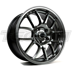 949 RACING 6UL ALLOY WHEEL 17 X 9 SILVER 5X114 ET48