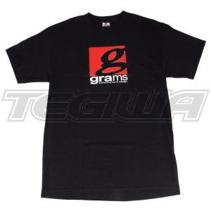 GRAMS PERFORMANCE & DESIGN LOGO TEE BLACK - XXL
