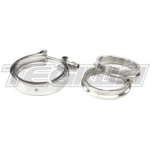 "TEGIWA 2.5"" V-BAND CLAMP FLANGES STAINLESS STEEL 63MM"