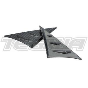 Verus Engineering Carbon Fiber Anti-Buffeting Wind Deflector Toyota Supra A90