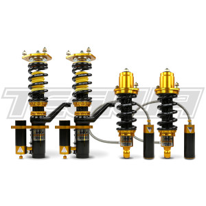 YELLOW SPEED RACING CLUB PERFORMANCE 3-WAY COILOVERS HONDA JAZZ GE 08-14