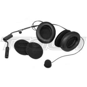 Stilo Full-face helmets intercom kit - With earmuffs - WRC electronics