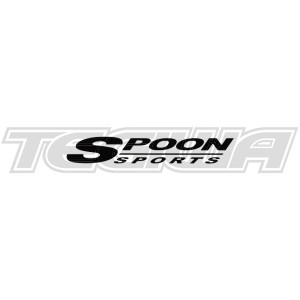 SPOON SPORTS LOGO STICKER BLACK