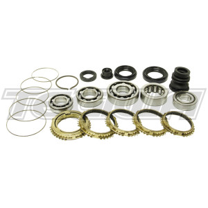 SYNCHROTECH CARBON REBUILD KIT 05-11 HONDA CIVIC TYPE R EP3 FN2 FD2 K20 SINGLE CONE