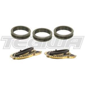 SYNCHROTECH 92-01 HONDA INTEGRA TYPE R DC2 S80 1ST-5TH CARBON SYNCHRO SLEEVE SET