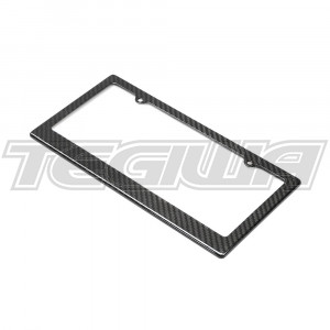 Seibon Carbon Fibre License Plate Frame