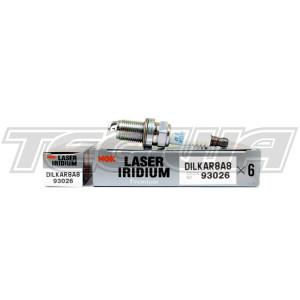 NGK LASER IRIDIUM SPARK PLUGS NISSAN GTR R35 VR38DETT DILKAR8A8