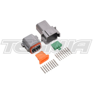 DEUTSCH CONNECTOR KIT DT SERIES 8 WAY ELECTRICAL SEALED CONNECTORS