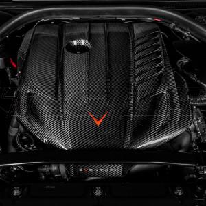 EVENTURI BLACK CARBON ENGINE COVER TOYOTA SUPRA MK5 A90