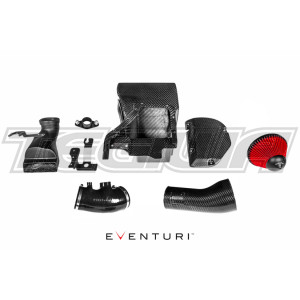 EVENTURI BLACK CARBON INTAKE AIRBOX RHD & LHD HONDA CIVIC TYPE R FK8 17+