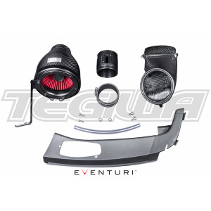 EVENTURI BLACK CARBON INTAKE AIRBOX HONDA CIVIC TYPE R FK2 15+