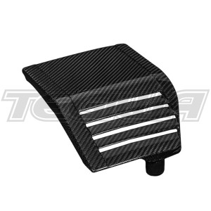 EVENTURI BLACK CARBON ENGINE PUMP COVER HONDA CIVIC TYPE R FK2 15+