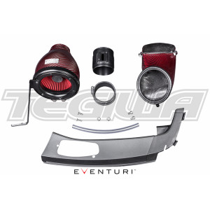 EVENTURI RED CARBON INTAKE AIRBOX HONDA CIVIC TYPE R FK2 15+