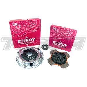 EXEDY RACING SINGLE SERIES STAGE 2 SPORTS 4 PADDLE CLUTCH KIT MITSUBISHI GALANT VR-4 LANCER EVOLUTION II III 4G63T