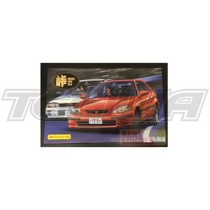 Fujimi 1:24 Scale Honda Civic SIR EK Model Kit #763 With Tamiya Glue