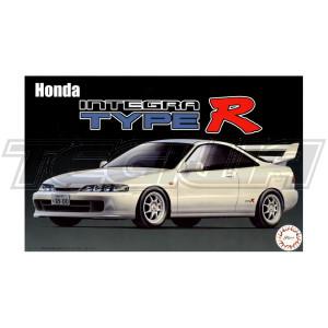 Fujimi 1:24 Scale Honda Integra DC2 Type R Model Kit #558P With Tamiya Glue
