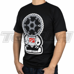 Skunk2 Black Series Gear Headz Men's T-Shirt Black