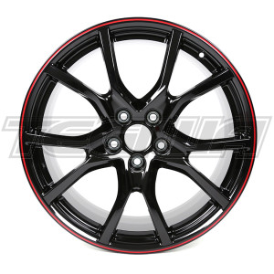 "GENUINE HONDA 20"" ALLOY WHEEL BLACK CIVIC TYPE R FK8 FK2"