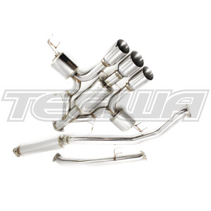 GREDDY SUPREME SP EXHAUST HG TRIPLE TIPS HONDA CIVIC TYPE R FK8 17+
